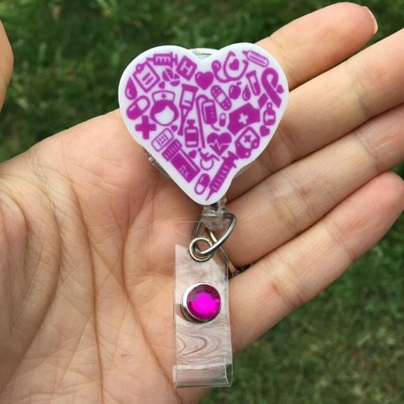 @juliatok Accessories - Nursing Retractable Badge Holder